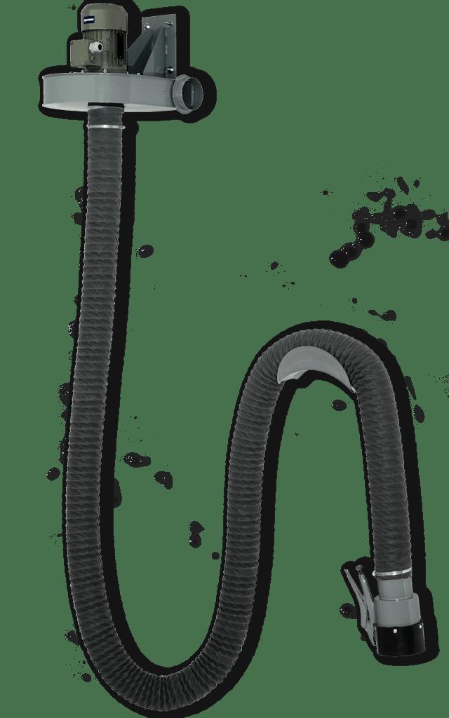 Samostatný odsávač výfukových plynů CARVENT